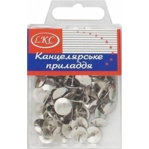 Кнопка серебрянная (100шт)