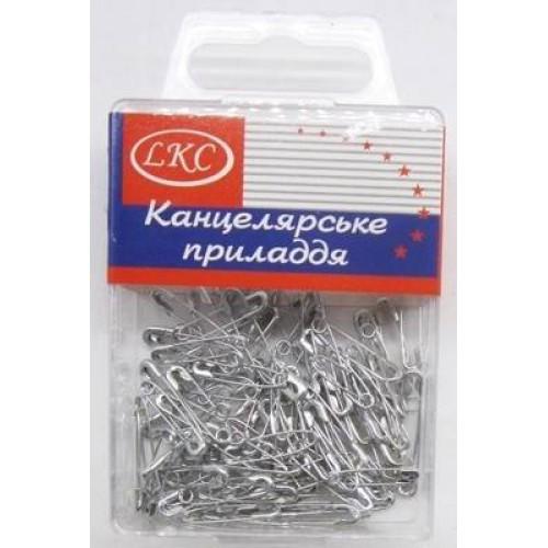 Булавки английская, серебрянная (100шт)