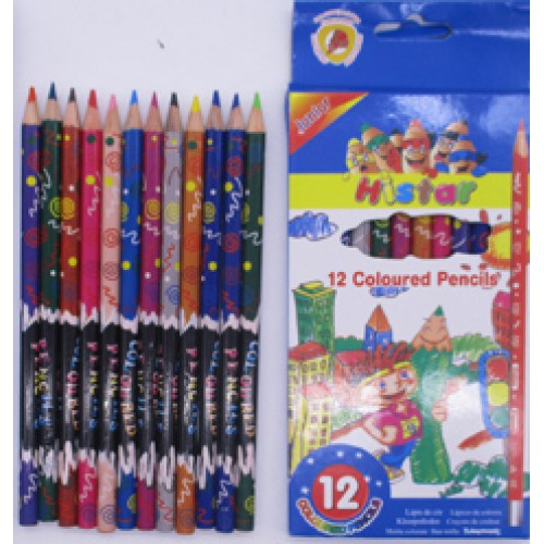 """Цветные карандаши 12цв Junior """"Histar"""""""