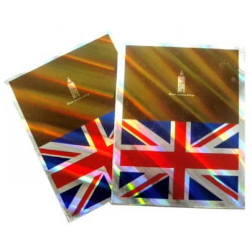 "Фотоальбом  ""Английский флаг"" 10*15см, 160 фото"