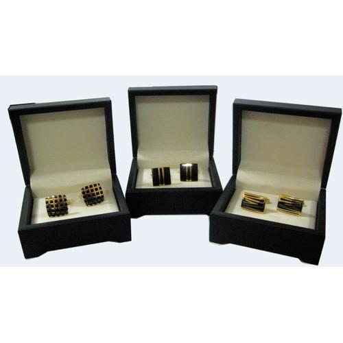 Запонки A-серия, квадратные в коробочке