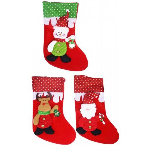 Носок для подарков 41см