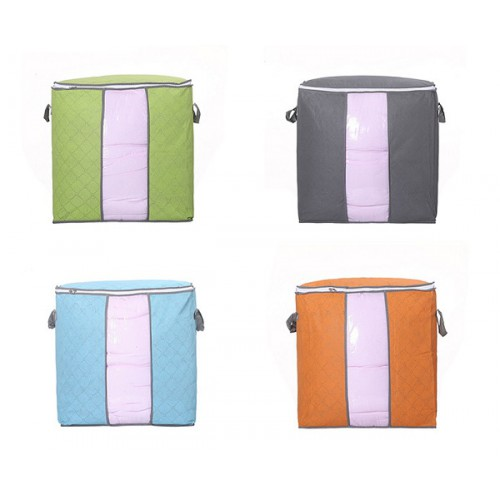 Органайзер для хранения одежды/одеял 42*46см, цвета в ассорт