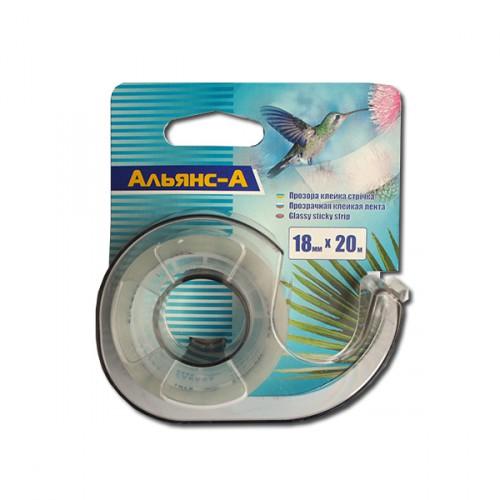 Диспенсер для скотча 12 мм «Колибри»