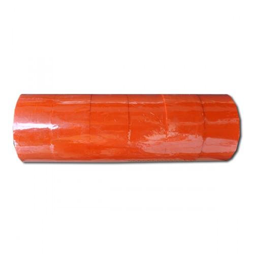 Скотч 200м цвет оранжевый (фактическая длина 76м)