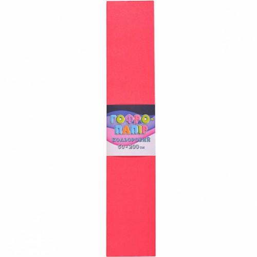 Гофрированная бумага 50*200см, красный арбуз, 17г/м2 75%
