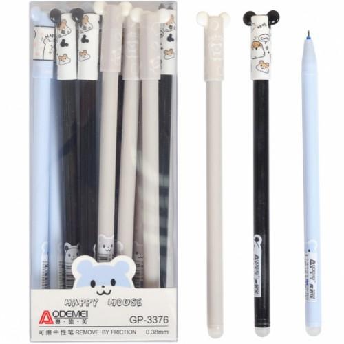 """Ручка гелевая """"пишет-стирает"""" 0,38мм, синяя"""