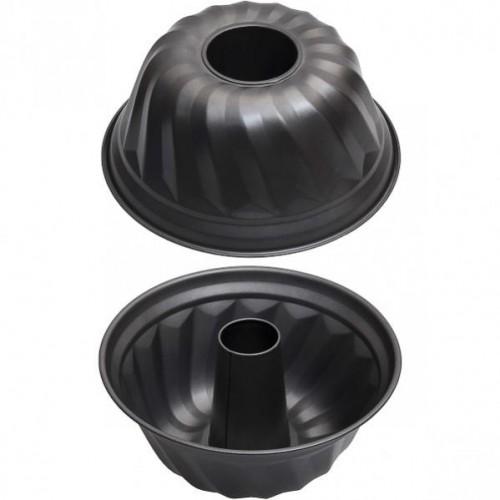 Форма металлическая для кекса высокая 25*11см
