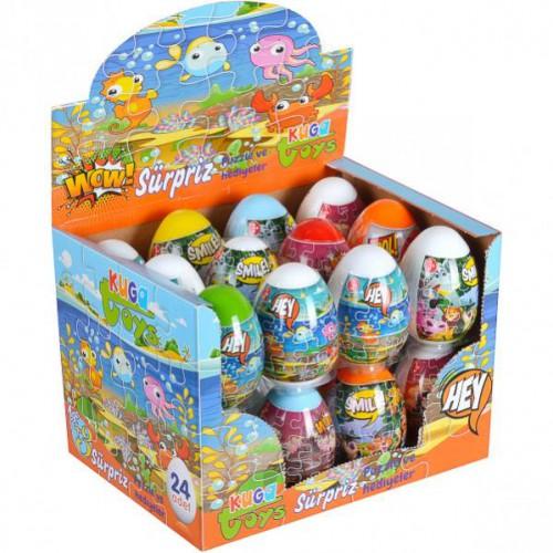 Яйцо сюрприз Пазлы+ тесто «Play-Toys»