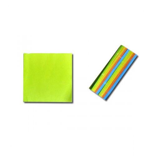 """Блок для заметок 8*8см цветной """"Коленкор"""""""