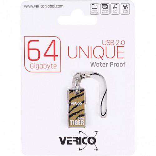 ФлешкаVerico USB 64Gb Unique Tiger