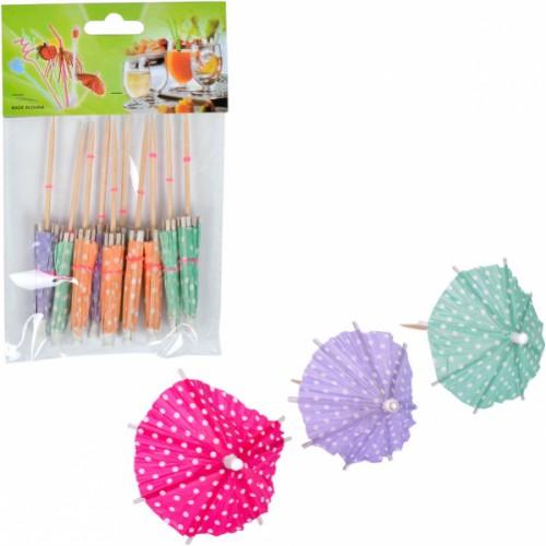 Зонтик коктельный маленький (10шт)