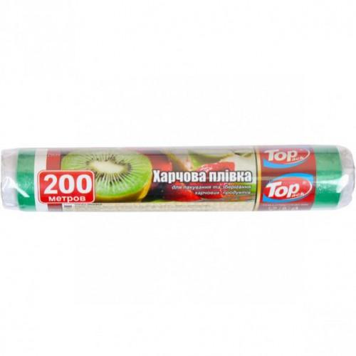 Пленка пищевая 29см/200м 7мкм (зеленая) Top Pack