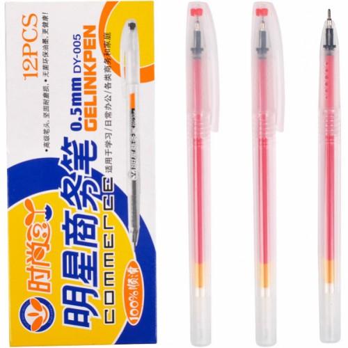 """Ручка гелевая """"Commerce"""" 0,5мм, красная"""