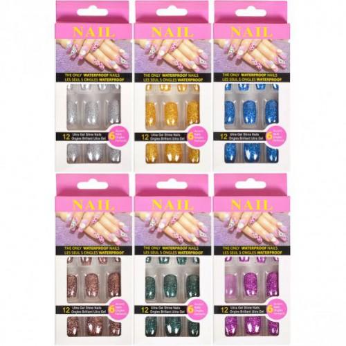 Набор накладных ногтей