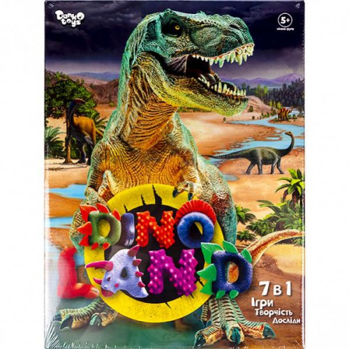 """Креативна творчість """"Dino Land 7 в 1"""" 5+"""
