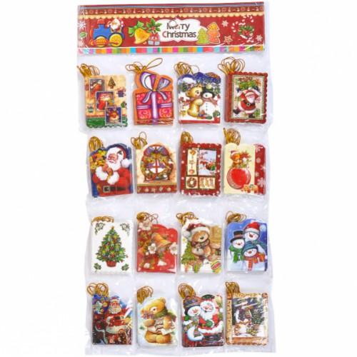 """Письмо-открытка для """"Деда Мороза"""" 5,4*6,9см"""