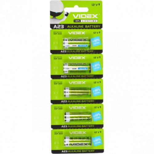 Батарейки Videx 23A «мини бочонок», Alkaline, 12V