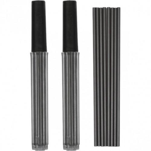 Грифель 2мм, длина 9см для циркуля, готовальни, механического карандаша МР7001