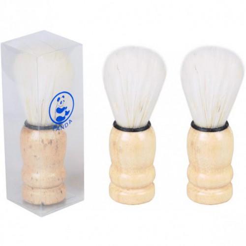 Помазок для бритья 9см (длина ворса 4,5см) с деревянной ручкой