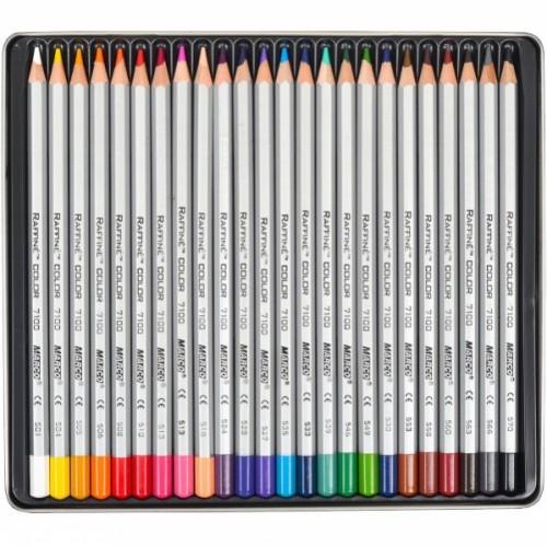 Набор цветных карандашей 24цв серия Raffine MARCO