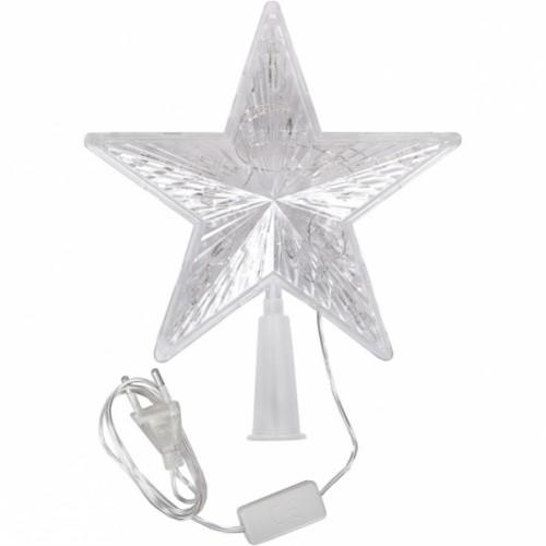 Верхушка электрическая «Звезда большая» LED 19*19*4см