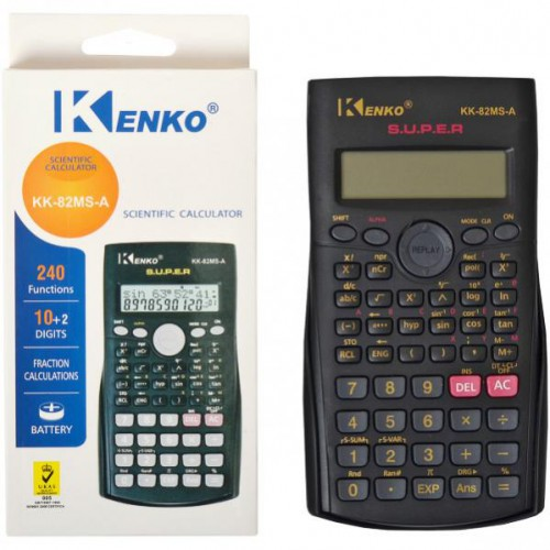 Калькулятор инженерный 15*8,5*1,5см (240 функций/ 1 источник энергии)