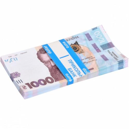 Сувенир 1000 гривень (80шт купюр)