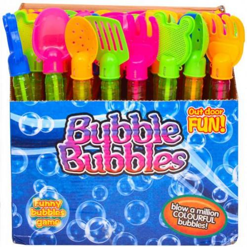 Мыльные пузыри с инструментом