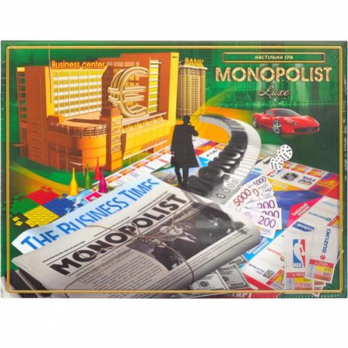 Игра большая «Monopolist» укр 8+