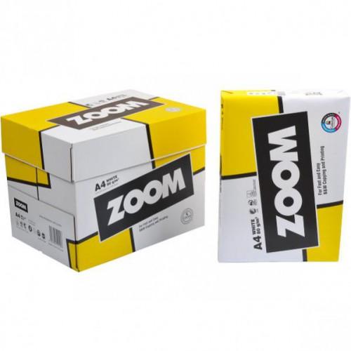"""Бумага для ксерокса """"ZOOM"""" А4 500л, 75г/м2"""