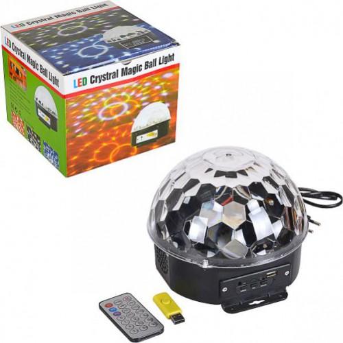 Музыкальный диско-шар Crystal Magic Ball Light