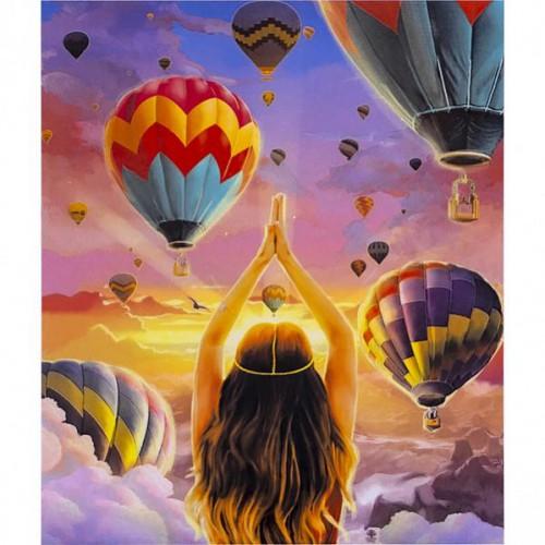 """Картина по номерам """"Воздушные шары"""" 40*50см"""