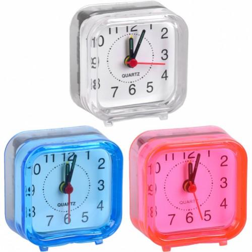 Настольные часы - будильник MINI 6*6*3см