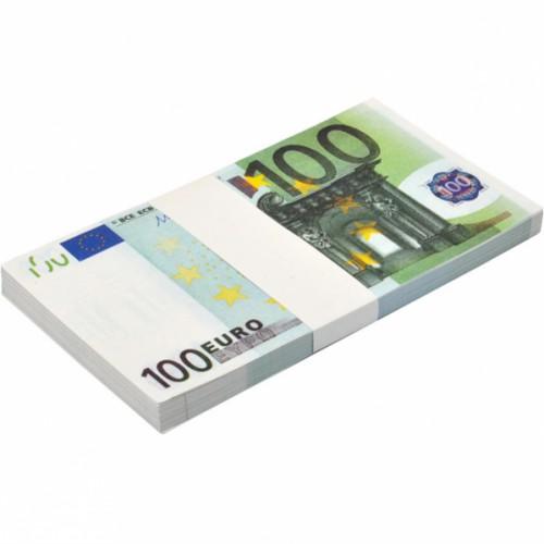 Сувенир 100 Евро (80шт купюр)