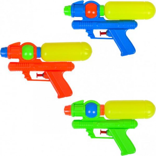 Водяной пистолет-помпа 19см в кульке