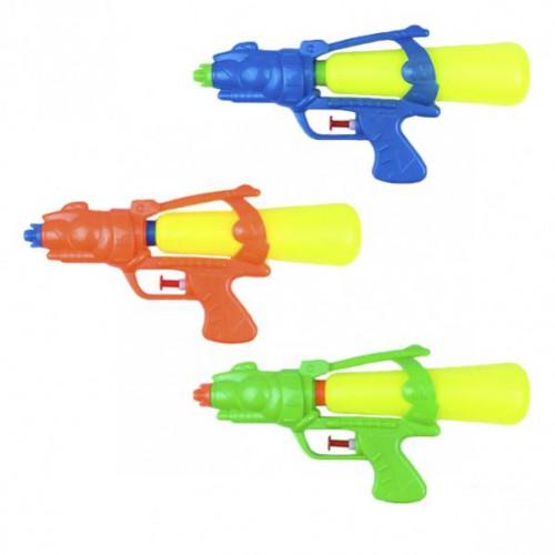Водяной пистолет-помпа 24см в кульке