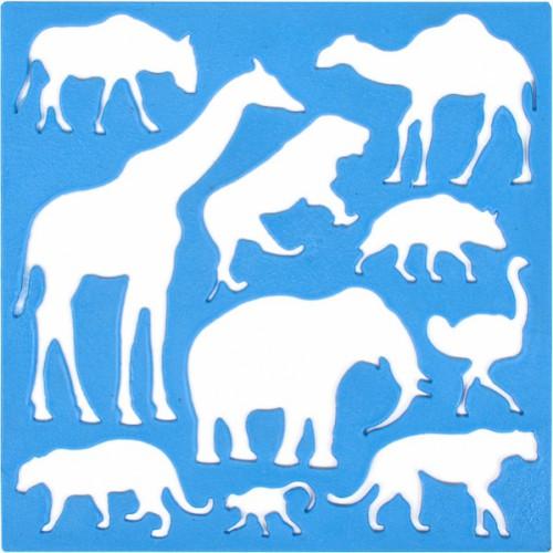 Трафарет «Животные» «Irbis»
