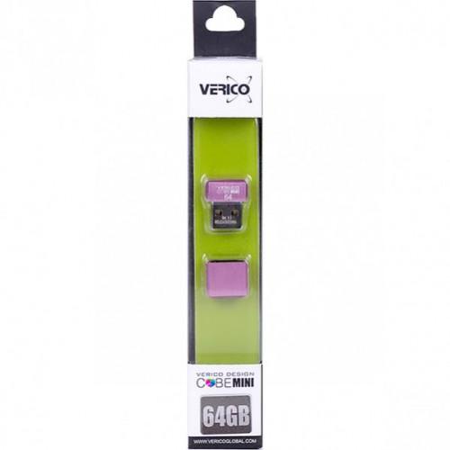 Флешка Verico USB 64Gb MiniCube Pink