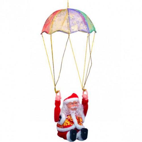 Дед Мороз с парашютом 40см