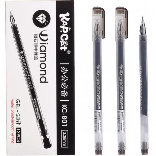 Ручка гелевая «KapCat» 0,5мм, черная