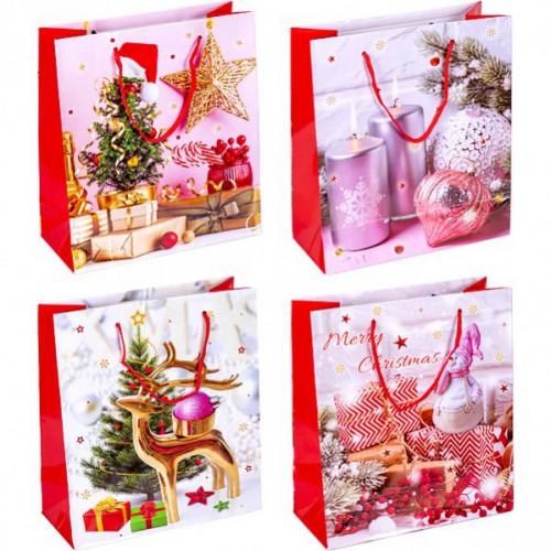 Пакет «Merry Christmas»18*21,5*8см
