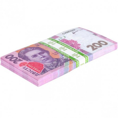 Сувенир 200 гривень (80шт купюр)