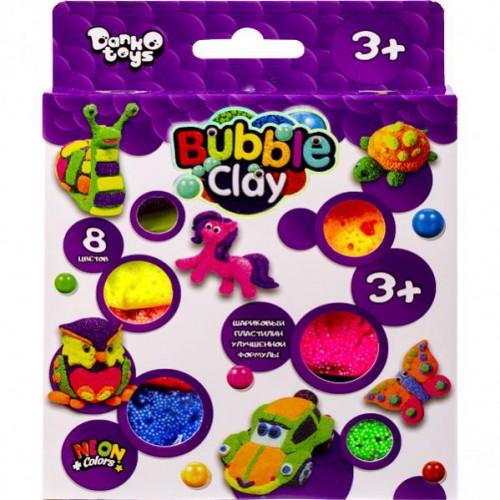 Креативное творчество «BUBBLE CLAY» 8цв. 3+
