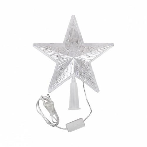 Верхушка электрическая «Звезда малая» LED 16,5*16,5*3см