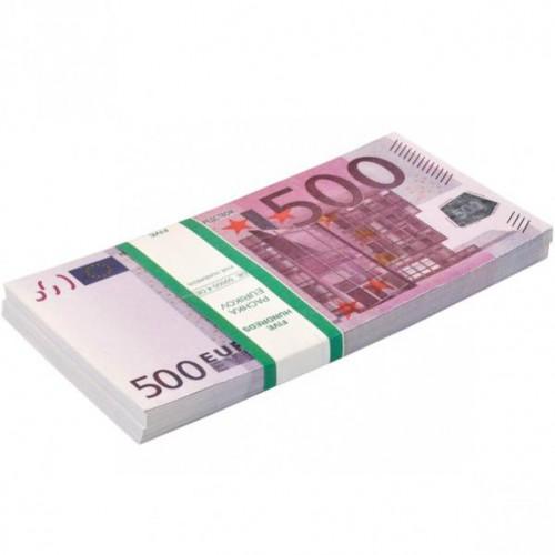 Сувенир 500 евро (80шт купюр)