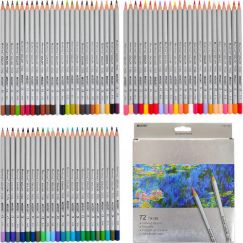 Набор профессиональных цветных карандашей 72цв серия Raffine MARCO