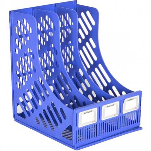 Лоток вертикальный пластик на 3 отделения