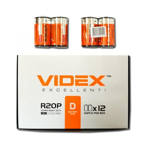 R2OP/D Батарейки Videx солевые