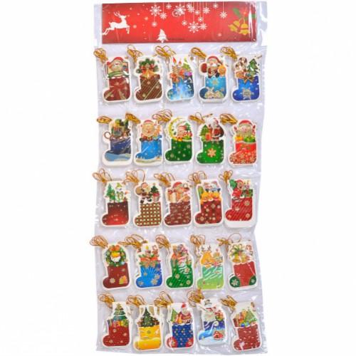 """Письмо-открытка для """"Деда Мороза-Сапог """" 7,5*4,8см"""